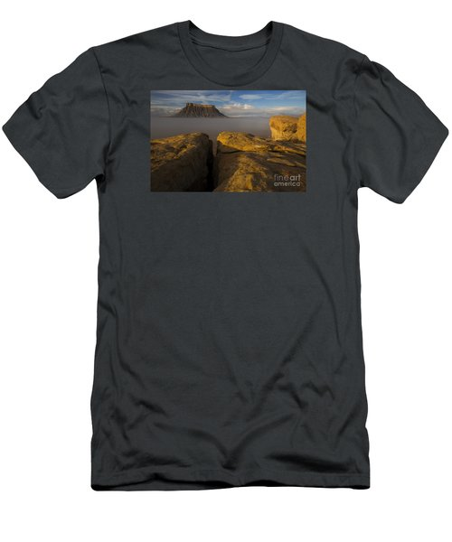 Sunrise Over Factory Butte Men's T-Shirt (Athletic Fit)