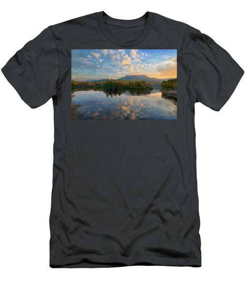 Sunrise Over Mt. Katahdin Men's T-Shirt (Athletic Fit)