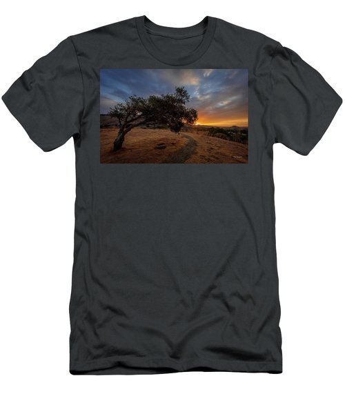 Sunrise Over San Luis Obispo Men's T-Shirt (Athletic Fit)