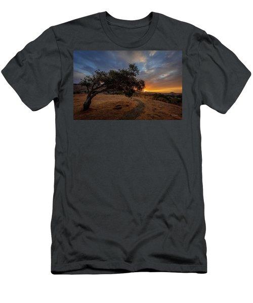 Sunrise Over San Luis Obispo Men's T-Shirt (Athletic Fit)