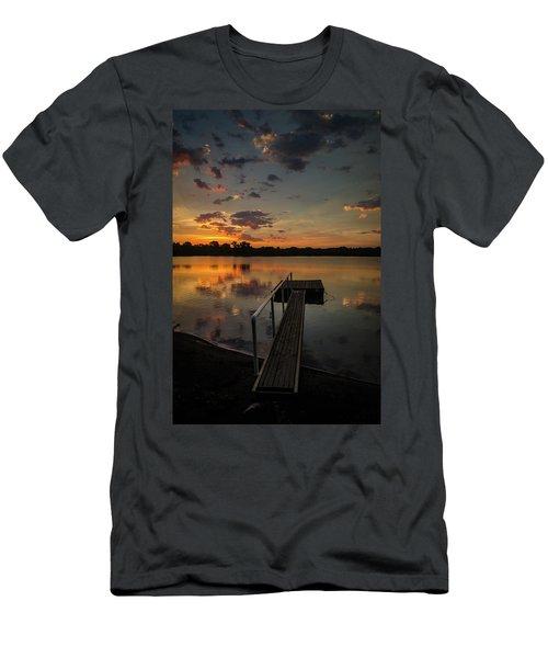 Sunrise Over Stuber's Dock V Men's T-Shirt (Athletic Fit)