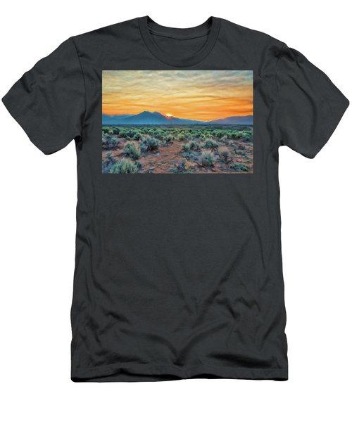 Sunrise Over Taos Men's T-Shirt (Athletic Fit)