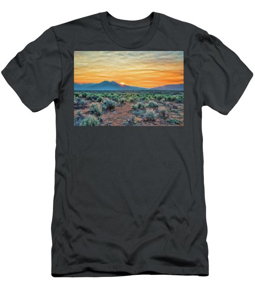 Sunrise Over Taos Men's T-Shirt (Athletic Fit)