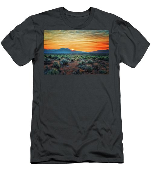 Sunrise Over Taos II Men's T-Shirt (Athletic Fit)