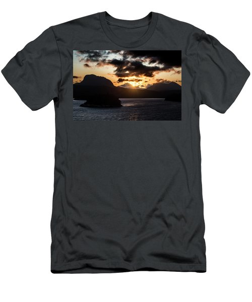 Sunrise Over The Inland Passage Men's T-Shirt (Athletic Fit)