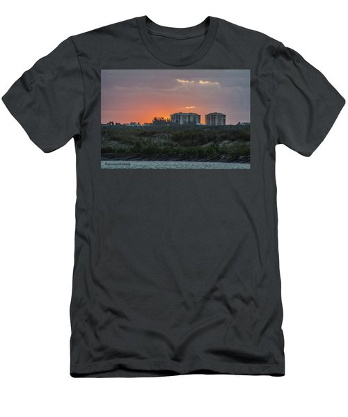 Sunrise Over The Intracoastal Men's T-Shirt (Athletic Fit)