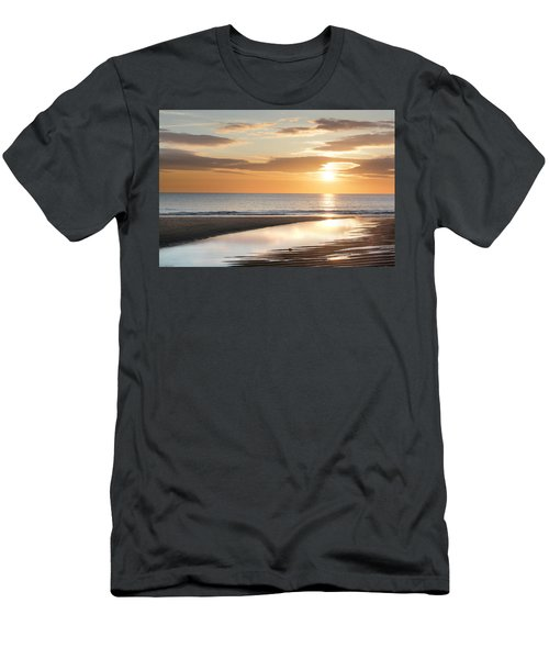 Sunrise Reflections At Aberdeen Beach Men's T-Shirt (Athletic Fit)
