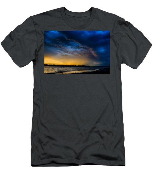 Sunrise Storm Men's T-Shirt (Athletic Fit)
