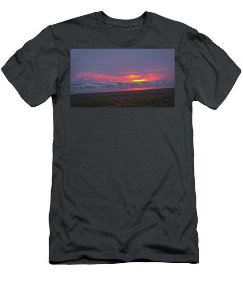 Sunset #9 Men's T-Shirt (Athletic Fit)