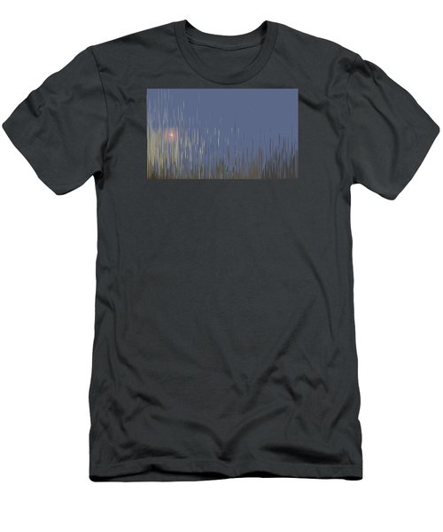 Sunset Across The Lake Men's T-Shirt (Athletic Fit)