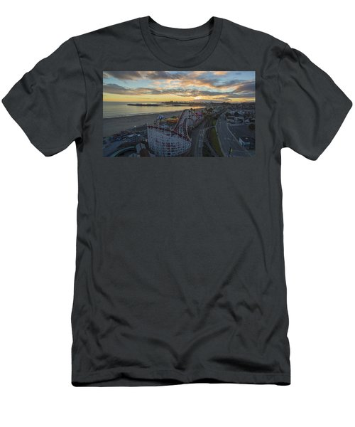 Sunset Amusement Men's T-Shirt (Athletic Fit)