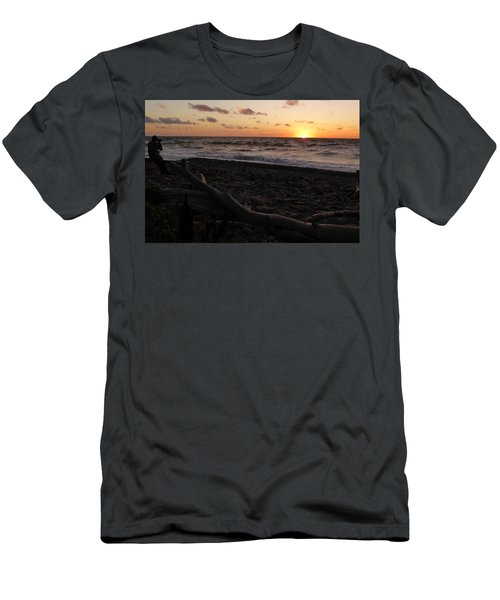 Sunset At Cap Rouge Men's T-Shirt (Athletic Fit)