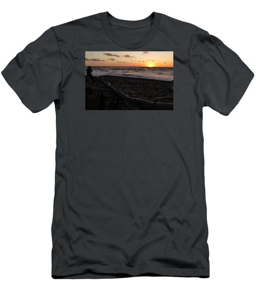 Sunset At Cap Rouge Men's T-Shirt (Athletic Fit)