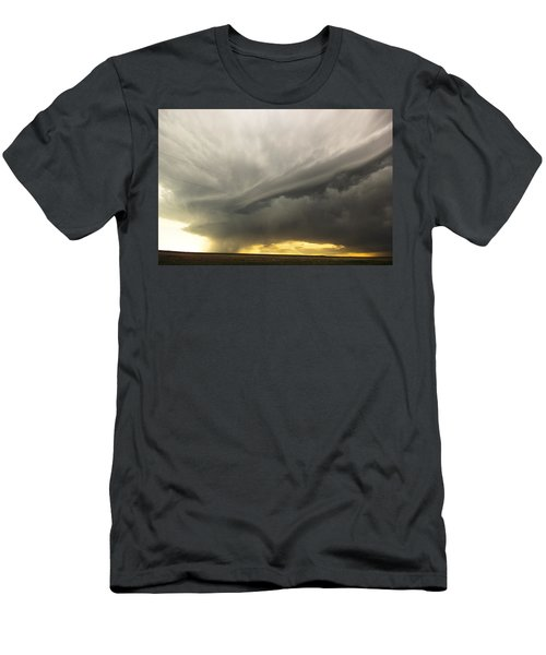 Men's T-Shirt (Slim Fit) featuring the photograph Sunset At Dalhart Texas by Ryan Crouse
