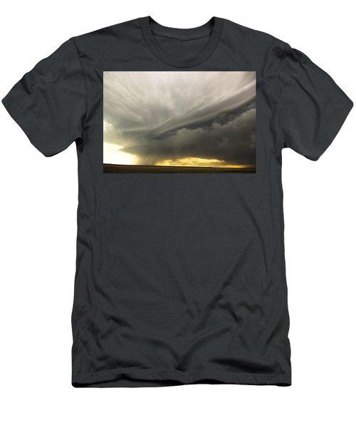 Sunset At Dalhart Texas Men's T-Shirt (Athletic Fit)