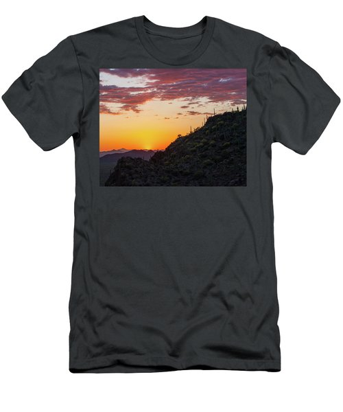 Sunset At Gate's Pass Men's T-Shirt (Athletic Fit)