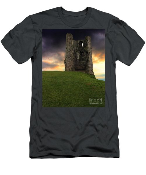 Sunset At Hadleigh Castle Men's T-Shirt (Athletic Fit)