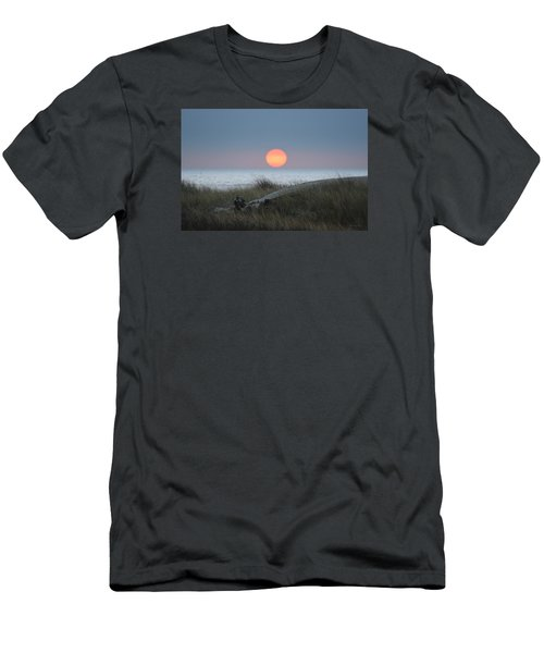 Sunset At Halfmoon Bay Men's T-Shirt (Athletic Fit)