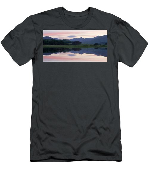 Sunset At Loch Tulla Men's T-Shirt (Athletic Fit)