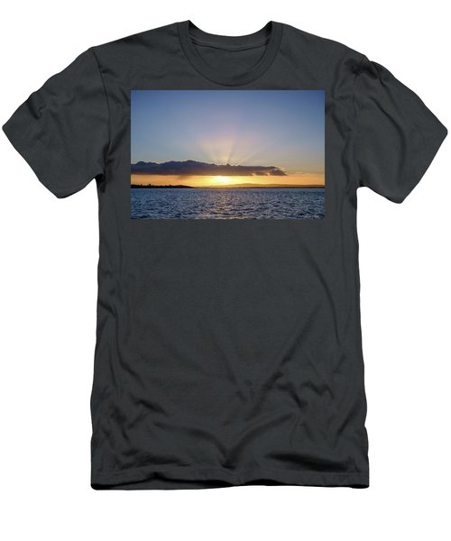 Sunset At Lough Derg Men's T-Shirt (Athletic Fit)