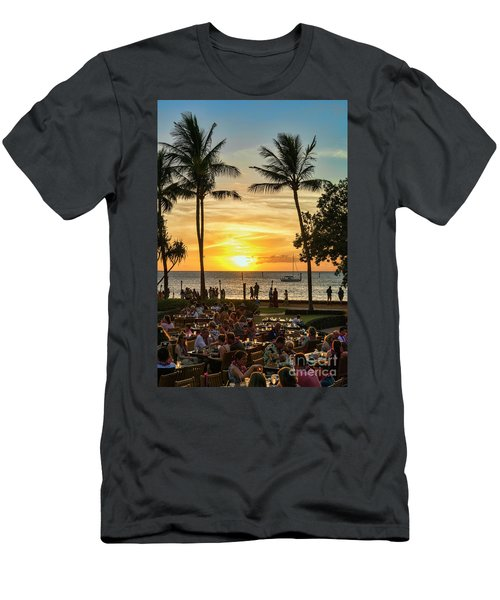 Sunset At Old Lahina Luau #2 Men's T-Shirt (Athletic Fit)