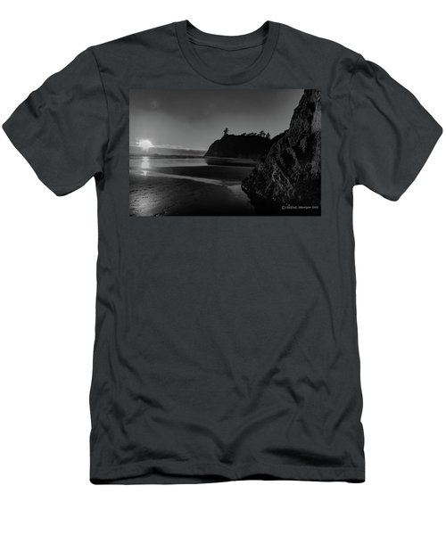 Sunset At Ruby Beach Men's T-Shirt (Athletic Fit)