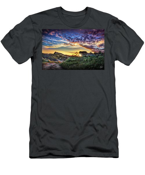 Sunset At Sage Ranch Men's T-Shirt (Athletic Fit)