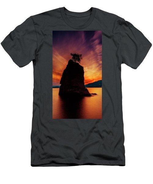 Sunset At Siwash Rock Men's T-Shirt (Athletic Fit)