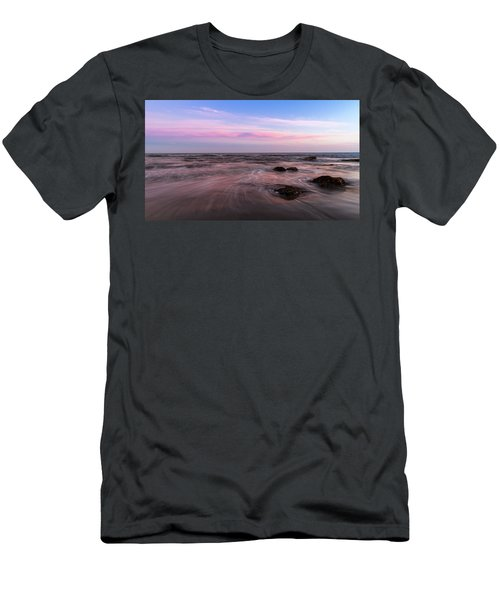 Sunset At The Atlantic Men's T-Shirt (Slim Fit) by Andreas Levi