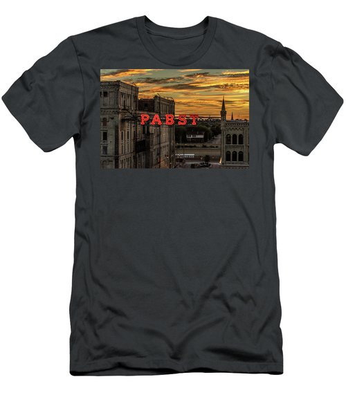 Sunset At The Brewery Men's T-Shirt (Athletic Fit)