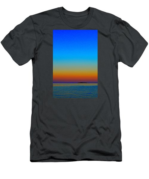 Men's T-Shirt (Slim Fit) featuring the photograph Sunset Blend South East 3  by Lyle Crump
