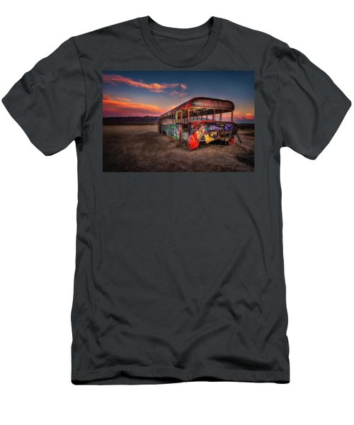 Sunset Bus Tour Men's T-Shirt (Athletic Fit)