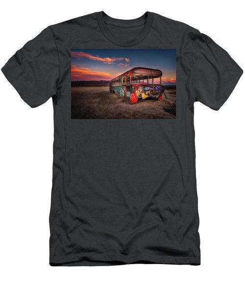 Sunset Bus Tour Men's T-Shirt (Athletic Fit)