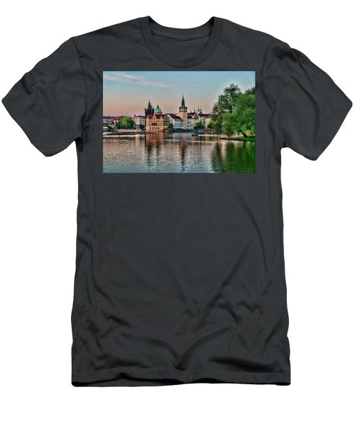 Sunset Cruise Prague Men's T-Shirt (Athletic Fit)