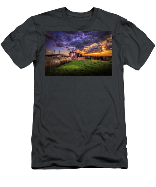 Sunset Dairy Men's T-Shirt (Athletic Fit)