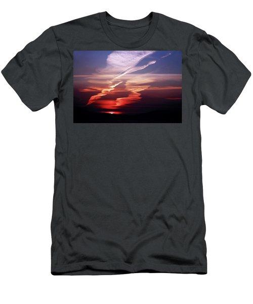 Sunset Dance Men's T-Shirt (Slim Fit) by Aidan Moran