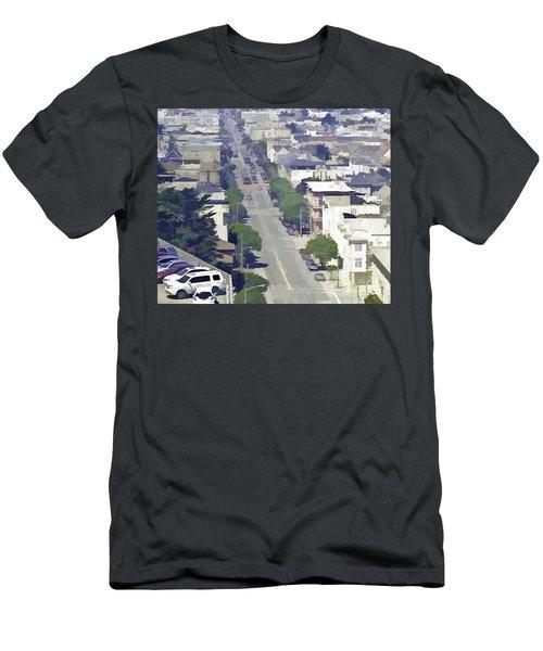 Sunset Days Men's T-Shirt (Athletic Fit)