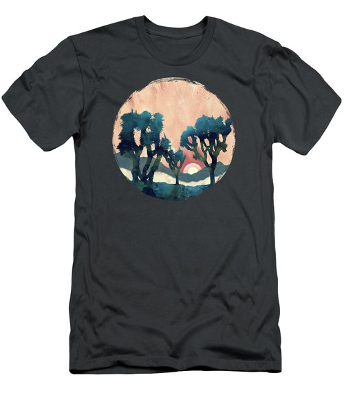 Sunset Desert Canyon Men's T-Shirt (Athletic Fit)