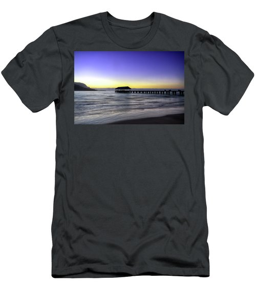 Sunset Fisherman Men's T-Shirt (Athletic Fit)