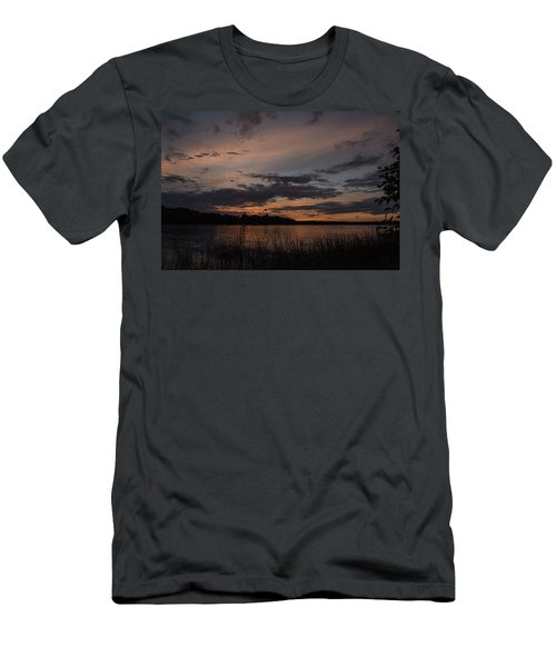 Sunset From Afternoon Beach Men's T-Shirt (Athletic Fit)