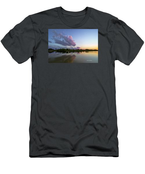 Men's T-Shirt (Slim Fit) featuring the photograph Sunset Glow by Don Durfee
