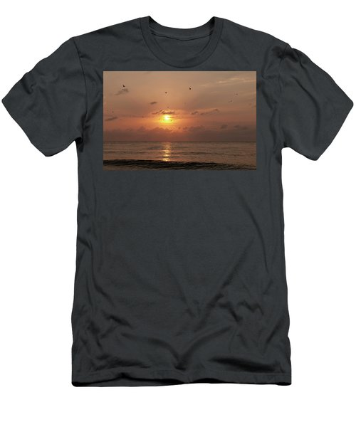 Sunset Florida Men's T-Shirt (Athletic Fit)