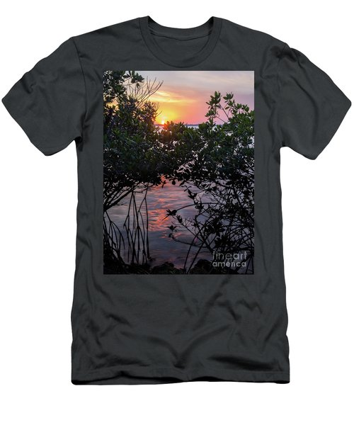 Sunset, Hutchinson Island, Florida  -29188-29191 Men's T-Shirt (Athletic Fit)