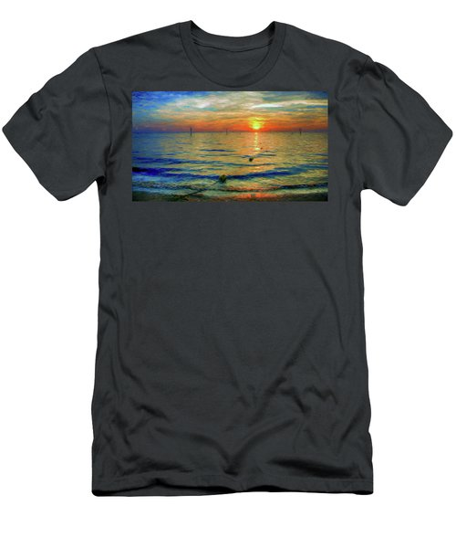 Sunset Impressions Men's T-Shirt (Athletic Fit)