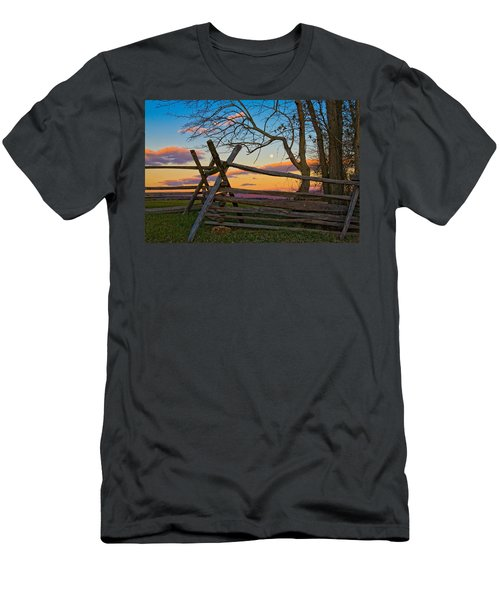 Sunset In Antietam Men's T-Shirt (Athletic Fit)