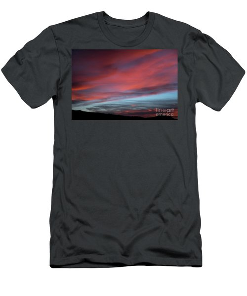 Sunset In Capital Reef  Men's T-Shirt (Athletic Fit)