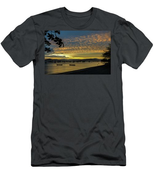 Sunset In Florianopolis Men's T-Shirt (Athletic Fit)