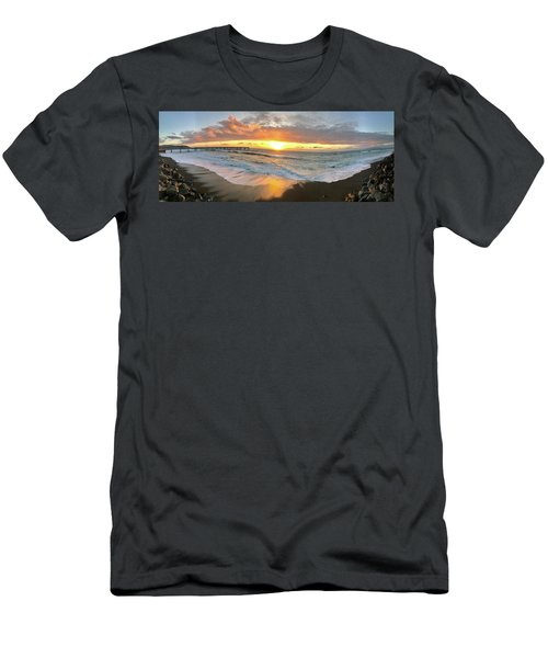Sunset In Pacifica Men's T-Shirt (Athletic Fit)