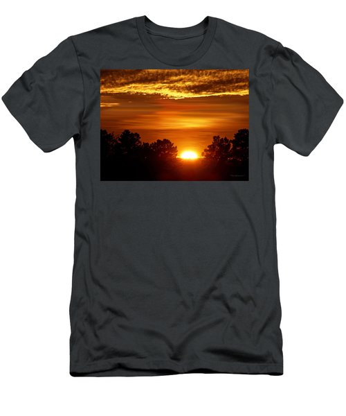 Sunset In Sonoma County Men's T-Shirt (Athletic Fit)