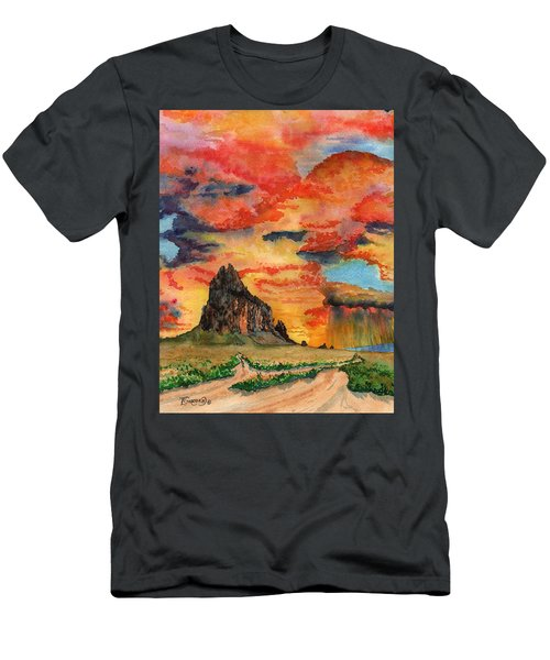 Sunset In The West Men's T-Shirt (Athletic Fit)